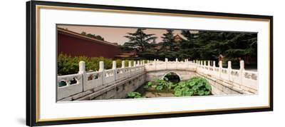 China 10MKm2 Collection - River of Gold - Forbidden City-Philippe Hugonnard-Framed Photographic Print