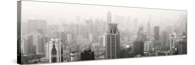 China 10MKm2 Collection - Shanghai Cityscape-Philippe Hugonnard-Stretched Canvas Print