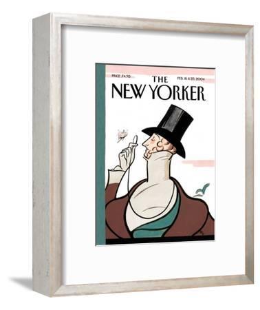 The New Yorker Cover - February 16, 2004-Rea Irvin-Framed Premium Giclee Print