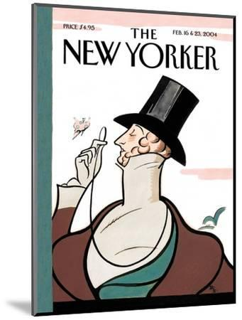 The New Yorker Cover - February 16, 2004-Rea Irvin-Mounted Premium Giclee Print
