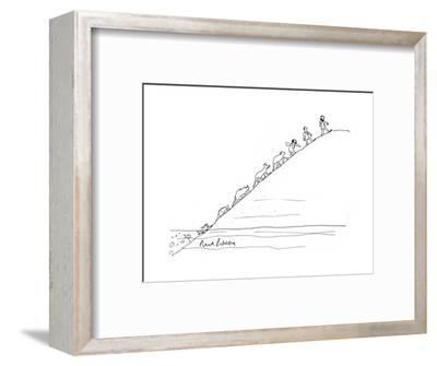 Evolution - Cartoon-Mort Gerberg-Framed Premium Giclee Print