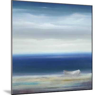 Boat on Shore-Kc Haxton-Mounted Art Print