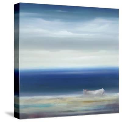 Boat on Shore-Kc Haxton-Stretched Canvas Print