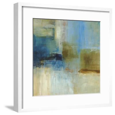Blue Abstract-Simon Addyman-Framed Premium Giclee Print