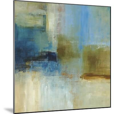 Blue Abstract-Simon Addyman-Mounted Premium Giclee Print