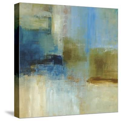 Blue Abstract-Simon Addyman-Stretched Canvas Print