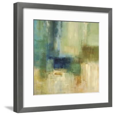 Green Abstract-Simon Addyman-Framed Premium Giclee Print