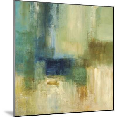Green Abstract-Simon Addyman-Mounted Premium Giclee Print