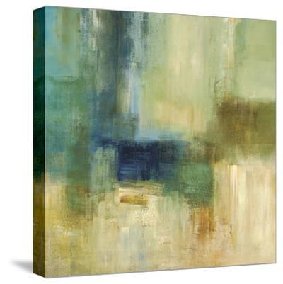 Green Abstract-Simon Addyman-Stretched Canvas Print