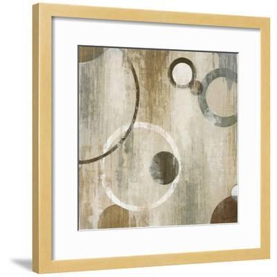 Orlando Mod Circles II-Liz Jardine-Framed Art Print