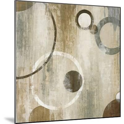 Orlando Mod Circles II-Liz Jardine-Mounted Art Print