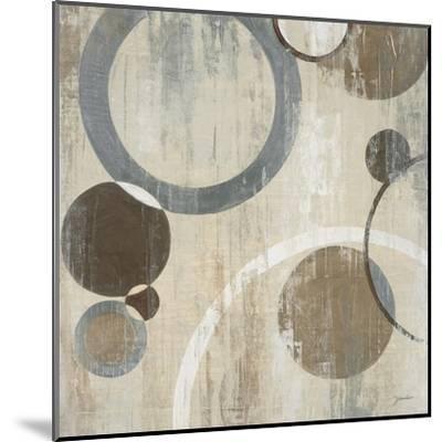 Orlando Mod Circles I-Liz Jardine-Mounted Art Print