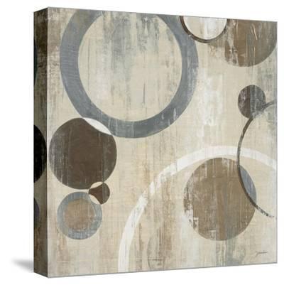 Orlando Mod Circles I-Liz Jardine-Stretched Canvas Print