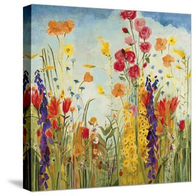 Laughter-Jill Martin-Stretched Canvas Print