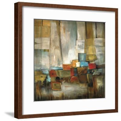 Hillside-Pablo Rojero-Framed Art Print