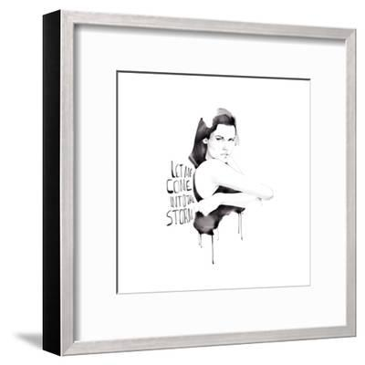 Let Me Come-Manuel Rebollo-Framed Art Print