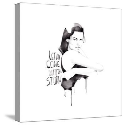 Let Me Come-Manuel Rebollo-Stretched Canvas Print
