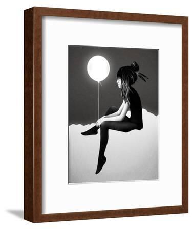 No Such Thing as Nothing by Night-Ruben Ireland-Framed Art Print