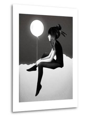 No Such Thing as Nothing by Night-Ruben Ireland-Metal Print