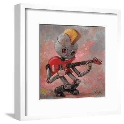 Punkbot-Aaron Jasinski-Framed Art Print