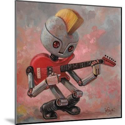 Punkbot-Aaron Jasinski-Mounted Art Print