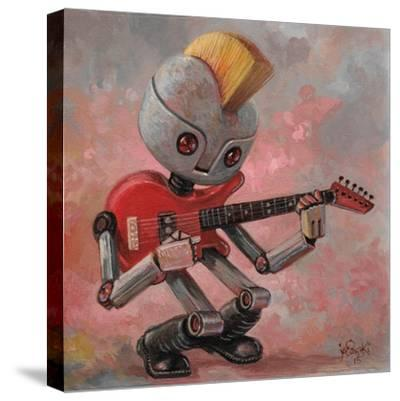 Punkbot-Aaron Jasinski-Stretched Canvas Print