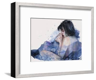 Fine on the Outside-Agnes Cecile-Framed Art Print