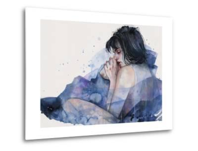 Fine on the Outside-Agnes Cecile-Metal Print