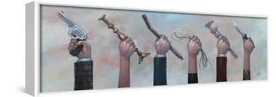 Choose Your Weapon-Aaron Jasinski-Framed Stretched Canvas Print