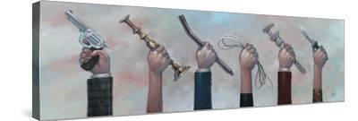 Choose Your Weapon-Aaron Jasinski-Stretched Canvas Print