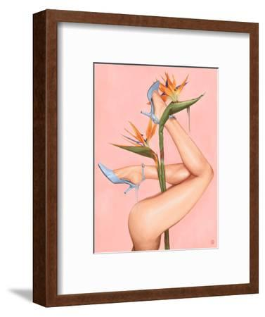 Bird of Paradise-Alexander Grahovsky-Framed Art Print