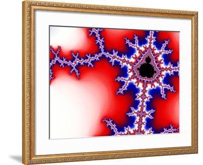 Mandelbrot Fractal-Laguna Design-Framed Photographic Print
