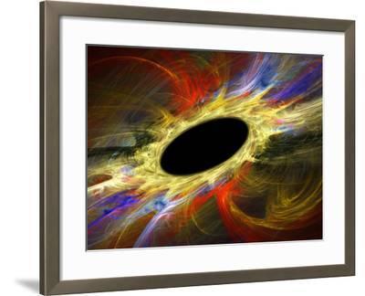 Black Hole, Artwork-Laguna Design-Framed Photographic Print