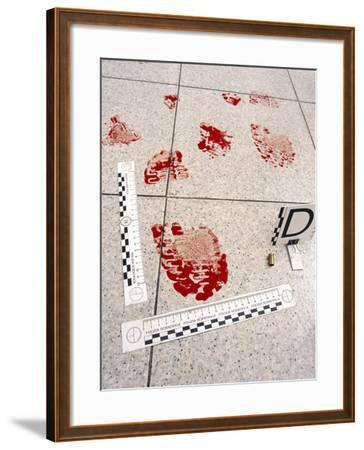 Recording Evidence-Mauro Fermariello-Framed Photographic Print