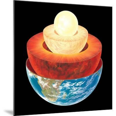 Earth Layers, Artwork-Gary Gastrolab-Mounted Photographic Print
