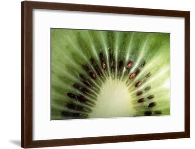 Kiwi Slice-Vaughan Fleming-Framed Photographic Print