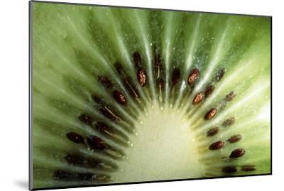 Kiwi Slice-Vaughan Fleming-Mounted Photographic Print