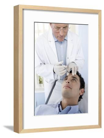 Botox Injection-Adam Gault-Framed Photographic Print