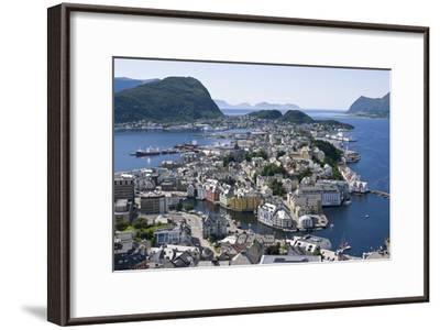 Alesund, Norway-Dr. Juerg Alean-Framed Photographic Print