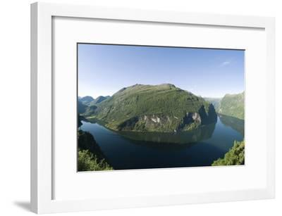 Geiranger Fjord, Norway-Dr. Juerg Alean-Framed Photographic Print