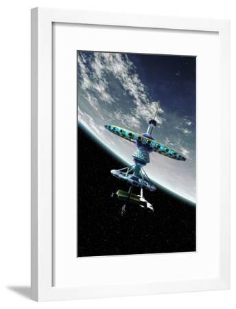 Space Hotel, Artwork-Take 27 LTD-Framed Photographic Print