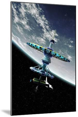Space Hotel, Artwork-Take 27 LTD-Mounted Photographic Print
