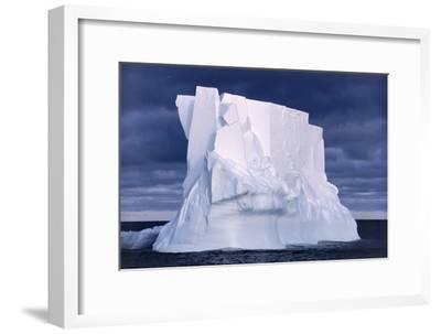 Iceberg Floating In the Ross Sea, Antarctica-Doug Allan-Framed Photographic Print