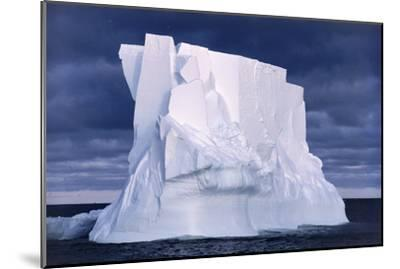 Iceberg Floating In the Ross Sea, Antarctica-Doug Allan-Mounted Photographic Print