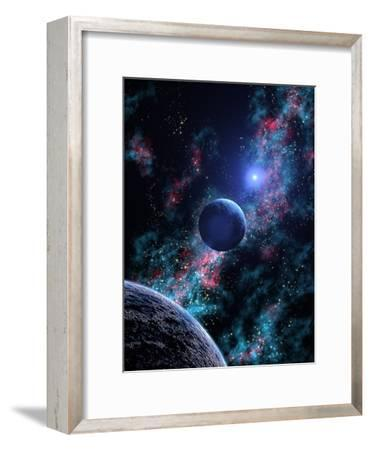 White Dwarf Planets-Julian Baum-Framed Photographic Print
