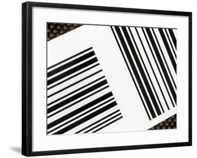 Barcodes-Martin Bond-Framed Photographic Print