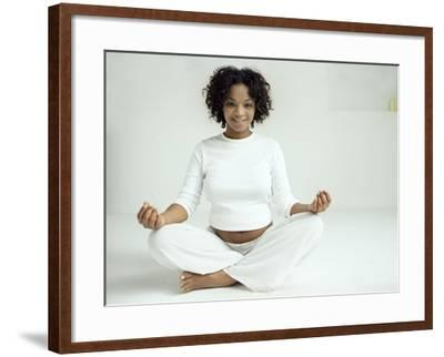 Yoga In Pregnancy-Ian Boddy-Framed Photographic Print