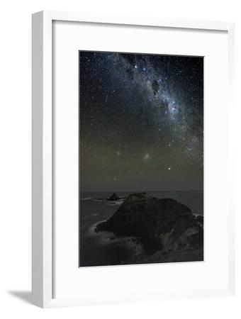 Milky Way Over Phillip Island, Australia-Alex Cherney-Framed Photographic Print