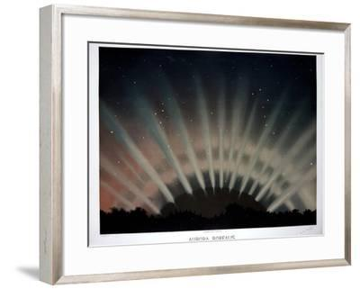 Aurora Borealis, 1872-Science, Industry and Business Library-Framed Photographic Print