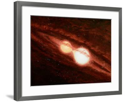 Eclipsing Binary Star System-Chris Butler-Framed Photographic Print